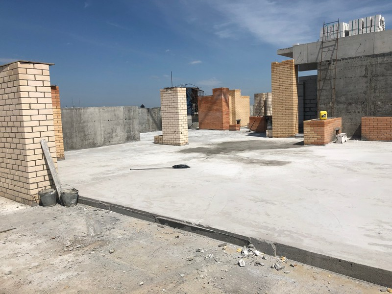 Уклонообразующий бетон монтаж архитектурного бетона